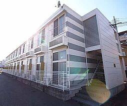 京都府宇治市小倉町春日森の賃貸アパートの外観