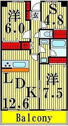 RIK西新井[303号室]の間取り