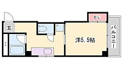 サン永沢[4階]の間取り