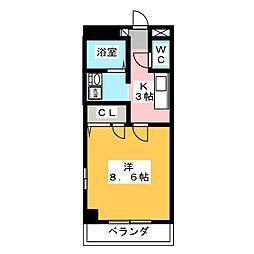 エクレール[2階]の間取り