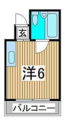 AOBAハイツ[2階]の間取り