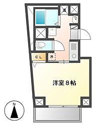サン・名駅南ビル[6階]の間取り