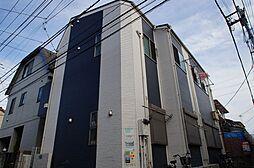 東京都大田区東六郷1丁目の賃貸アパートの外観