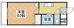 さくらマンション[401号室]の間取り