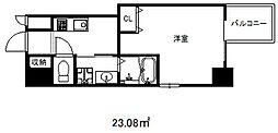 エスプレイス神戸ウエストモンターニュ[3階]の間取り