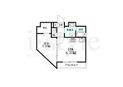 YOSHINO SQUARE[8階]の間取り