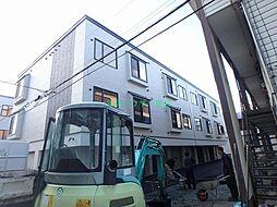 北海道札幌市東区北二十二条東15の賃貸アパートの外観
