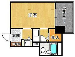 ジョイフル西宮2[4階]の間取り