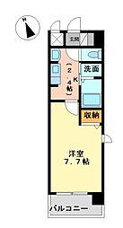 クレジデンス黒川[9階]の間取り