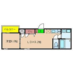 Fmaison verdeII[2階]の間取り