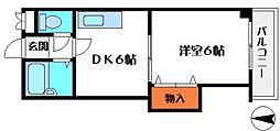 アビタシオンエース[4階]の間取り