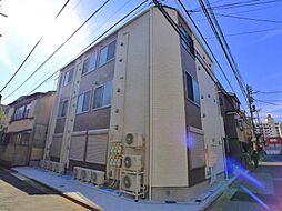 東京都足立区足立4の賃貸アパートの外観