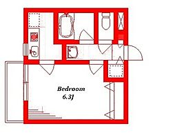 タチバナハウス[1階]の間取り