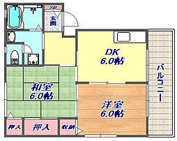 [タウンハウス] 兵庫県神戸市東灘区御影郡家1丁目 の賃貸【/】の間取り