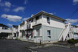 東京都青梅市大門3丁目の賃貸アパートの外観
