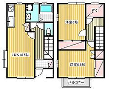 [テラスハウス] 神奈川県藤沢市本鵠沼3丁目 の賃貸【神奈川県 / 藤沢市】の間取り