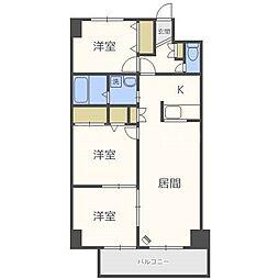 コローレ32[1階]の間取り
