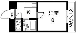 清洲プラザ高井田[201号室号室]の間取り