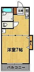 メゾンクラージュ[415号室]の間取り