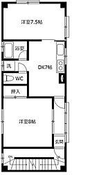 ベル八王子ビル[2階]の間取り
