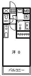 TYマンション[302号室]の間取り