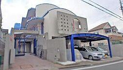神奈川県横浜市青葉区しらとり台の賃貸マンションの外観