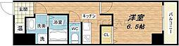 uro玉造II(ウーロ玉造II)[4階]の間取り