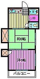 永井マンション[105号室]の間取り