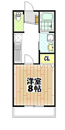 仮)松ヶ丘4丁目アパート[205号室]の間取り
