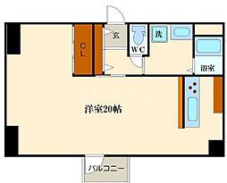 ドーマシマノウチ[6階]の間取り
