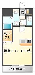 アンプルールフェール江坂[1階]の間取り