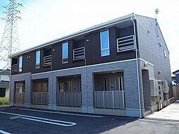富山県富山市蓮町5丁目の賃貸アパートの外観