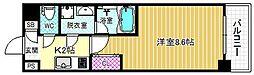 サムティ福島Libre[4階]の間取り