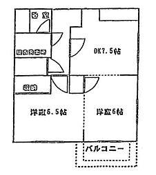 フォーマルタウン別所[2階]の間取り