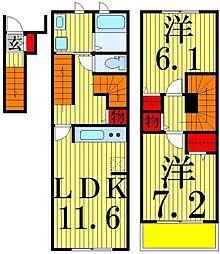 ルミエール[2階]の間取り