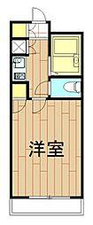 神奈川県横浜市港北区日吉3の賃貸マンションの間取り