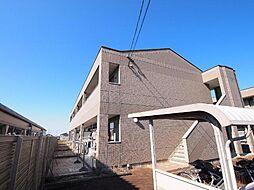 岐阜県可児郡御嵩町中の賃貸アパートの外観