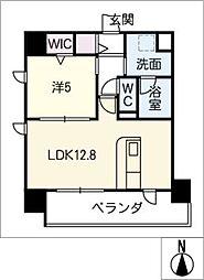 仮)千種区東山通一丁目プロジェクト 2階1SLDKの間取り