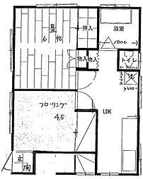 渡辺荘[1階]の間取り