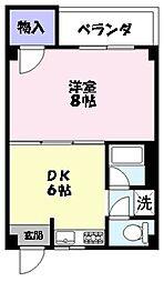 ラフェスタ東福原[301号室]の間取り