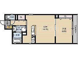 ファーレ[2階]の間取り