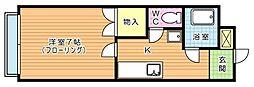 田中第3ハイツ[302号室]の間取り