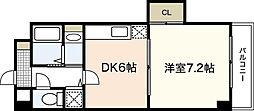 AZALEA中広[2階]の間取り