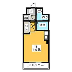 カーサ箱崎[2階]の間取り