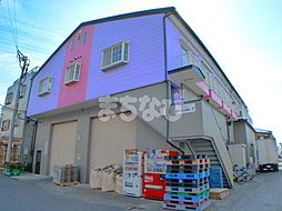 千葉県市川市二俣2丁目の賃貸アパートの外観