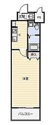 No.65 クロッシングタワー ORIENT BLD.[612号室]の間取り