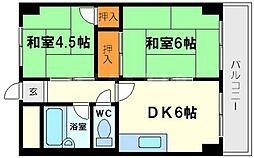 グリーンハイツ新大阪[3階]の間取り