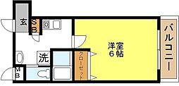 我孫子88マンション[4階]の間取り