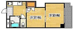 プリマベーラ西京極[506号室号室]の間取り