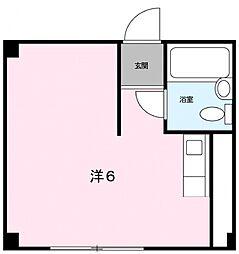 エステートヒマワリ[2階]の間取り